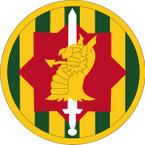 STICKER US ARMY UNIT 89th Military Police Brigade SHIELD