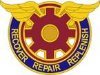 STICKER US ARMY UNIT 823 Transportation Battalion CREST