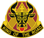 STICKER US ARMY UNIT 812nd Transportation Battalion CREST