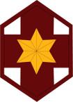 STICKER US ARMY UNIT 804th Medical Brigade SHIELD