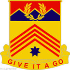 STICKER US ARMY UNIT 77th Field Artillery Battalion