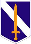 STICKER US ARMY UNIT 73rd Infantry Brigade SHIELD