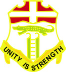 STICKER US ARMY UNIT 6th Infantry Regiment