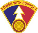 STICKER US ARMY UNIT 66th Transportation Battalion