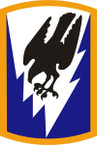 STICKER US ARMY UNIT 66th Aviation Command SHIELD