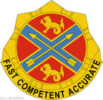 STICKER US ARMY UNIT 631st Field Artillery Brigade