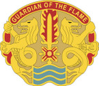 STICKER US ARMY UNIT 615 Transportation Battalion CREST