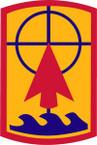 STICKER US ARMY UNIT 57th Field Artillery Brigade SHIELD