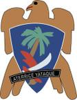 STICKER US ARMY UNIT 551st Parachute Infantry Battalion CREST