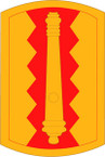 STICKER US ARMY UNIT 54th Field Artillery Brigade SHIELD