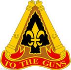 STICKER US ARMY UNIT 54th Field Artillery Brigade