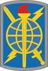 STICKER US ARMY UNIT 500th Military Intelligence Brigade SHIELD