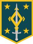 STICKER US ARMY UNIT 4th Maneuver Enhancement Brigades SHIELD