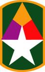 STICKER US ARMY UNIT 49th Armor Brigade SHIELD