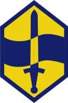 STICKER US ARMY UNIT 460th Chemical Brigade SHIELD