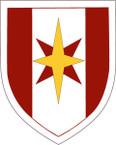 STICKER US ARMY UNIT 44th Medical Command SHIELD