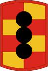STICKER US ARMY UNIT 434th Field Artillery Brigade SHIELD
