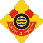 STICKER US ARMY UNIT 42nd Transportation Battalion