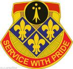 STICKER US ARMY UNIT 434th Field Artillery Brigade