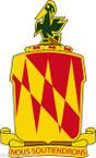 STICKER US ARMY UNIT 42nd Field Artillery Brigade
