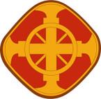STICKER US ARMY UNIT 428th Field Artillery Brigade SHIELD