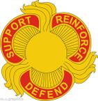 STICKER US ARMY UNIT 428th Field Artillery Brigade