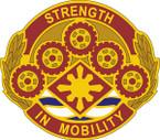 STICKER US ARMY UNIT 425 Transportation Brigade CREST