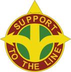 STICKER US ARMY UNIT 419 Transportation Battalion CREST
