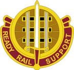 STICKER US ARMY UNIT 416 Transportation Battalion CREST