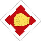 STICKER US ARMY UNIT 411th Engineer Brigade SHIELD