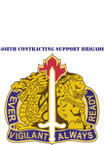 STICKER US ARMY UNIT 411TH Contracting Support Battalion