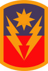 STICKER US ARMY UNIT 40th Infantry Brigade Combat Team SHIELD