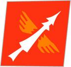 STICKER US ARMY UNIT 40th Anti-Aircraft Brigade SHIELD