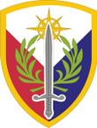 STICKER US ARMY UNIT 408th Support Brigade SHIELD