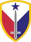 STICKER US ARMY UNIT 407th Support Brigade SHIELD