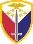 STICKER US ARMY UNIT 406th Support Brigade SHIELD