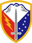 STICKER US ARMY UNIT 404th Support Brigade SHIELD