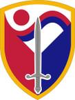 STICKER US ARMY UNIT 403rd Support Brigade SHIELD