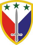STICKER US ARMY UNIT 402nd Support Brigade SHIELD