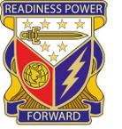 STICKER US ARMY UNIT 402nd Support Battalion Crest