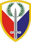 STICKER US ARMY UNIT 401st Support Brigade SHIELD