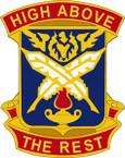 STICKER US ARMY UNIT 4 Adjutant General Bn