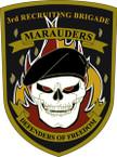 STICKER US ARMY UNIT 3rd Recruiting Brigade - Detail