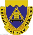 STICKER US ARMY UNIT 392nd Transportation Battalion