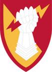 STICKER US ARMY UNIT 38th Air Defense Artillery Brigade