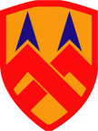 STICKER US ARMY UNIT 377th Support Brigade SHIELD
