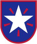 STICKER US ARMY UNIT 36th Infantry Brigade SHIELD