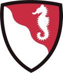 STICKER US ARMY UNIT 36th Engineer Brigade SHIELD