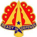 STICKER US ARMY UNIT 35TH AIR DEFENSE ARTILLERY BRIGADE II