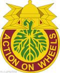 STICKER US ARMY UNIT 346th Transportation Battalion